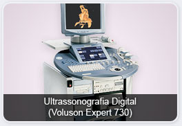 Ultrassonografia Digital (Voluson Expert 730)